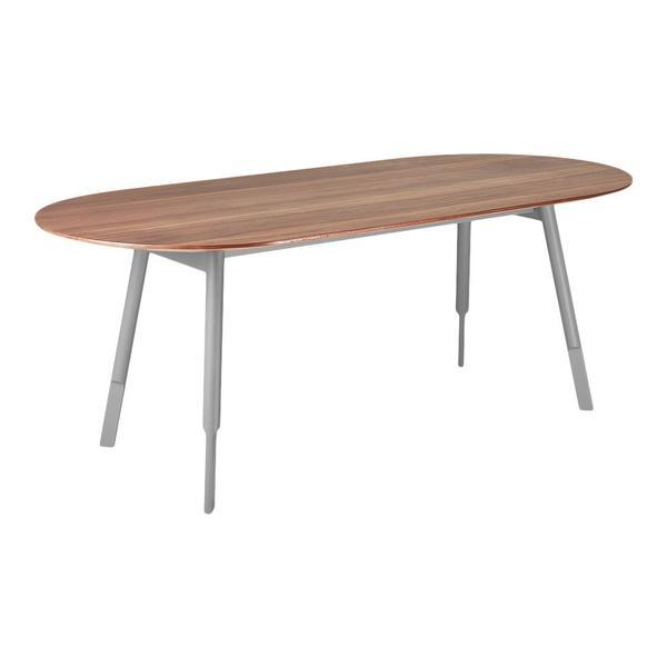 GUS Bracket Dining Table Walnut