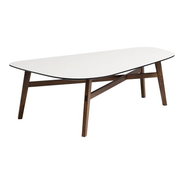 ANDERSEN C1 Coffee Table Alpino Laminate Walnut - Oil