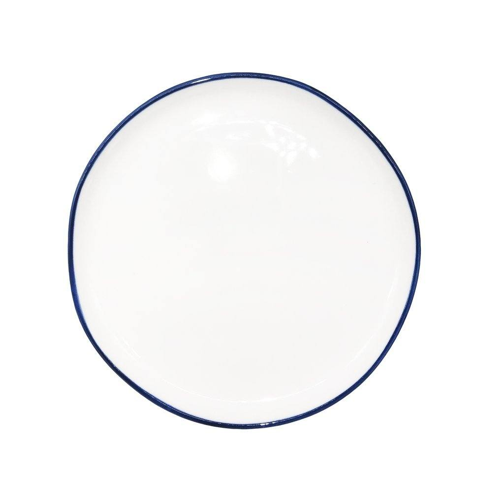 Canvas Home Abbesses Small Plate - Set of 4 Blue