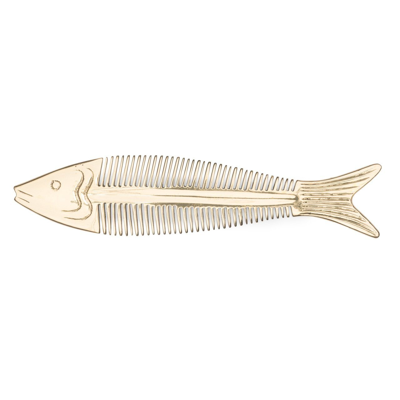 Siren Song Fish Brass Comb