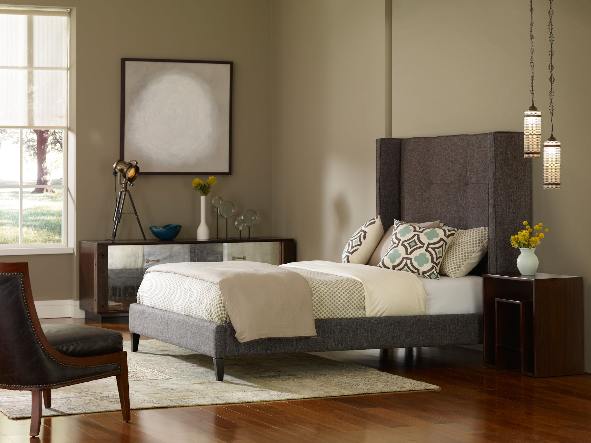 Four Hands Madison Upholstered Bed