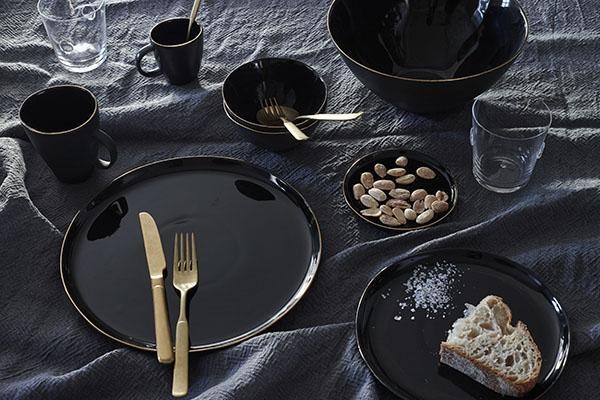 Canvas Home Como Cutlery - Set of 5 Matte Black