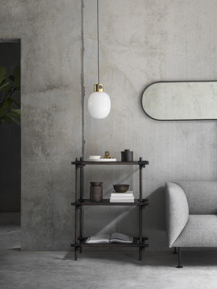 Menu JWDA Metallic Pendant Lamp Brushed Steel