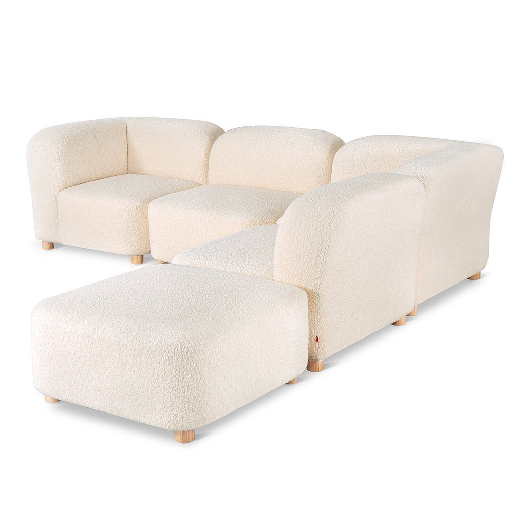 Gus Circuit Modular 5-pc Sectional Himalaya Cloud