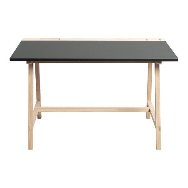 ANDERSEN D1 Desk Anthracite Grey Linoleum