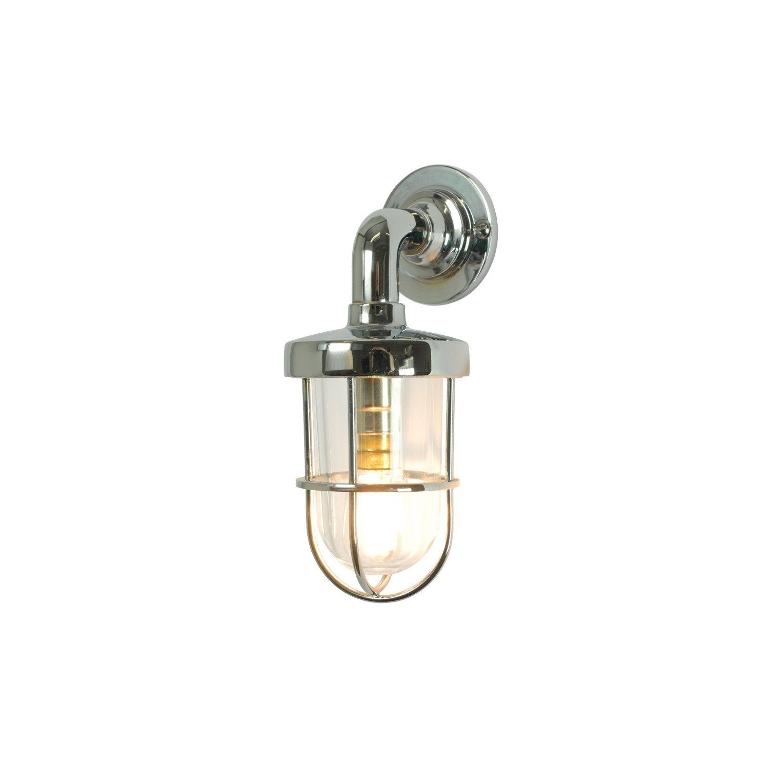 Original BTC Weatherproof Ship's Well Glass Wall Light - Mini