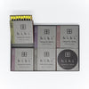 Hibi Matches Gift Box 5 Assorted Fragrances