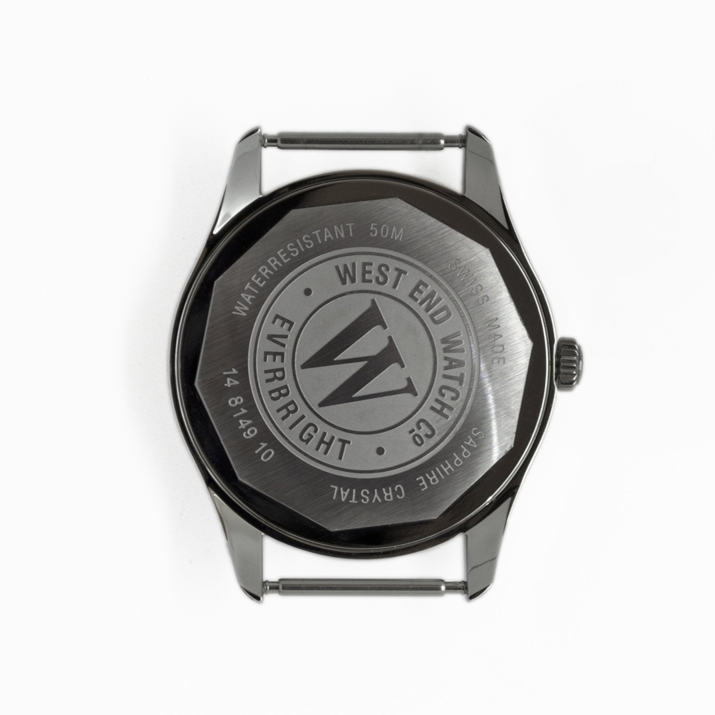 West End Watch Co. Sowar Prima - Black Dial