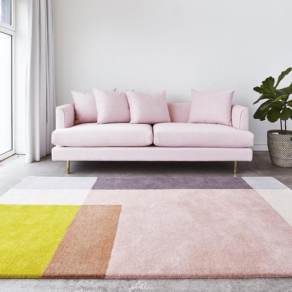 GUS Element Rug 4' W x 6' L Rose