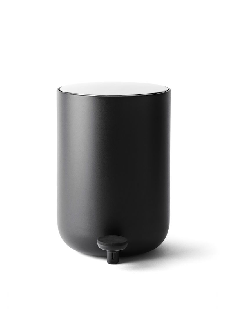 Menu Norm Bath Pedal Bin Black 4L(1.1G)