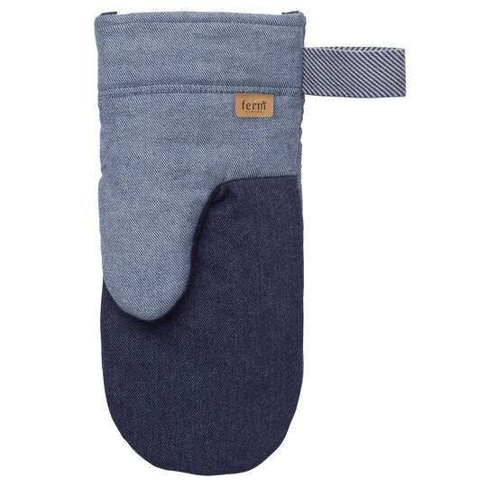 Ferm Living Denim Oven Mitt