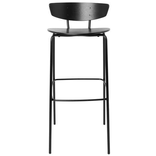 Ferm Living Herman Bar Stool - High Painted Oak Veneer