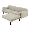 GUS Modern Foundry Bi-Sectional Sofa
