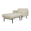 GUS Modern Foundry 2 PC Chaise