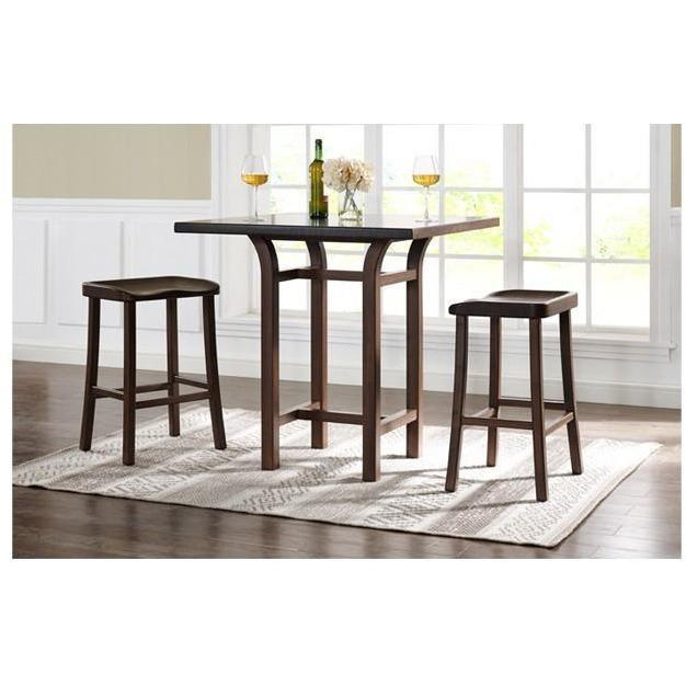 Greenington Tulip Bar Table Caramelized