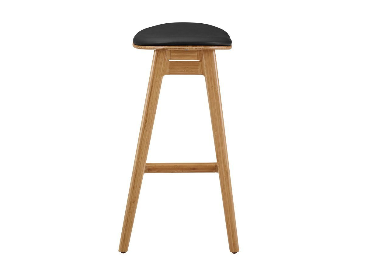 "Greenington Skol 26"" Counter Stool w/ Leather Seat - Set of 2"