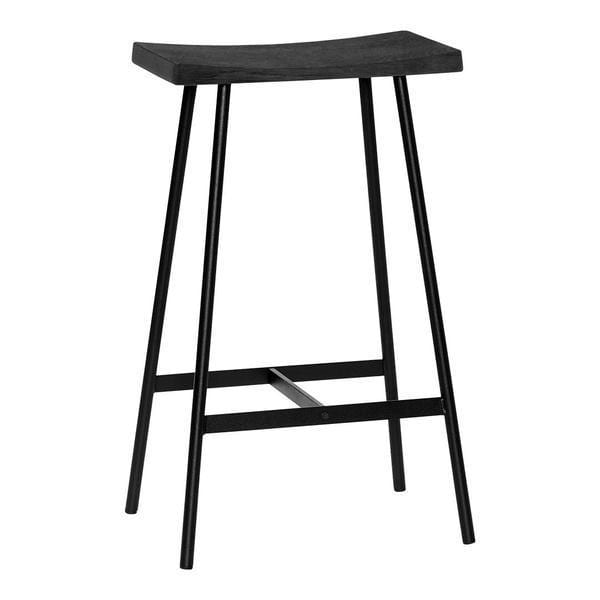 ANDERSEN HC2 Bar Stool Oak - White Lacquer Counter Height