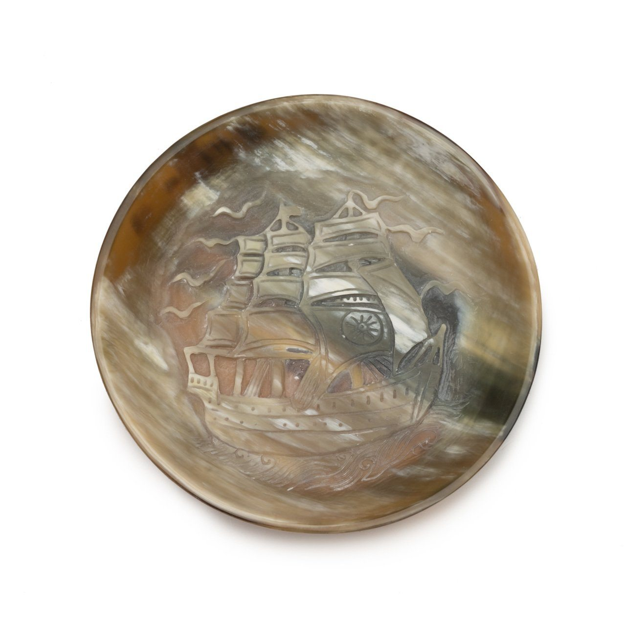 Siren Song Ship Dish Round