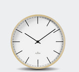 Huygens Wood Wall Clock - Index