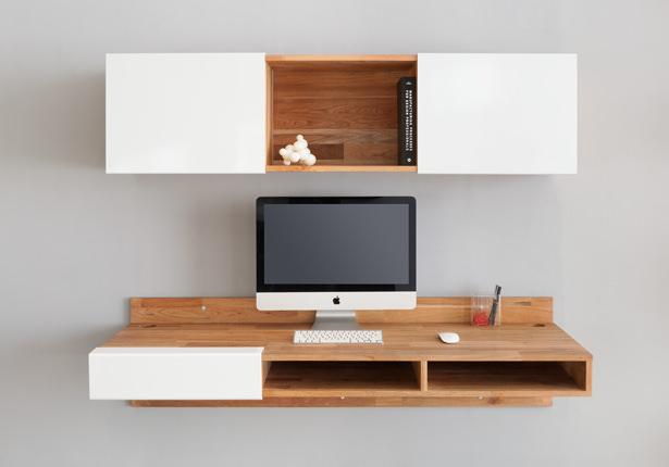 Mash Studios LAX 3X Wall Mounted Shelf White Aluminum