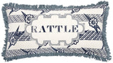 Thomas Paul Rattle Linen Pillow