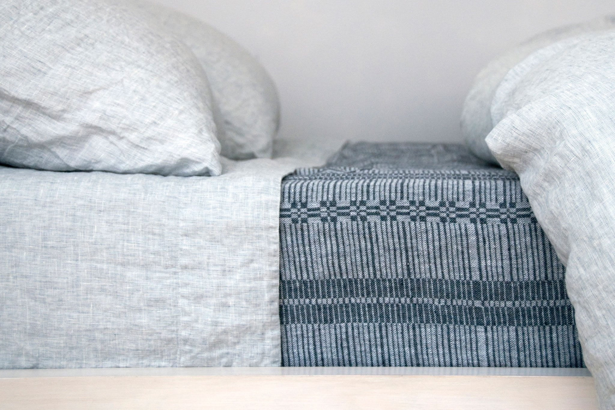 Area Louie Duvet Cover Blue Queen