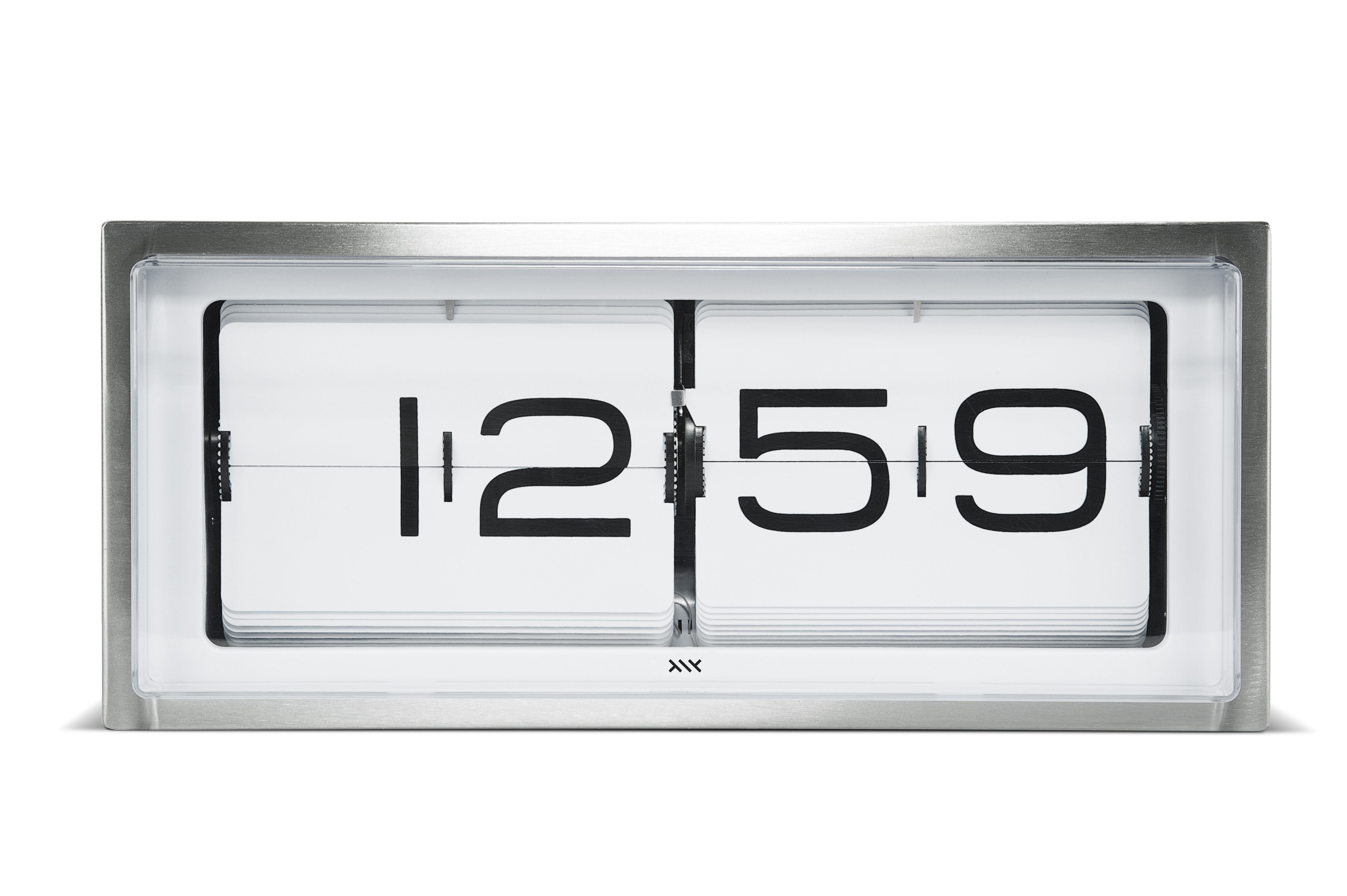 LEFF Amsterdam Brick Wall/Desk Clock - White Face