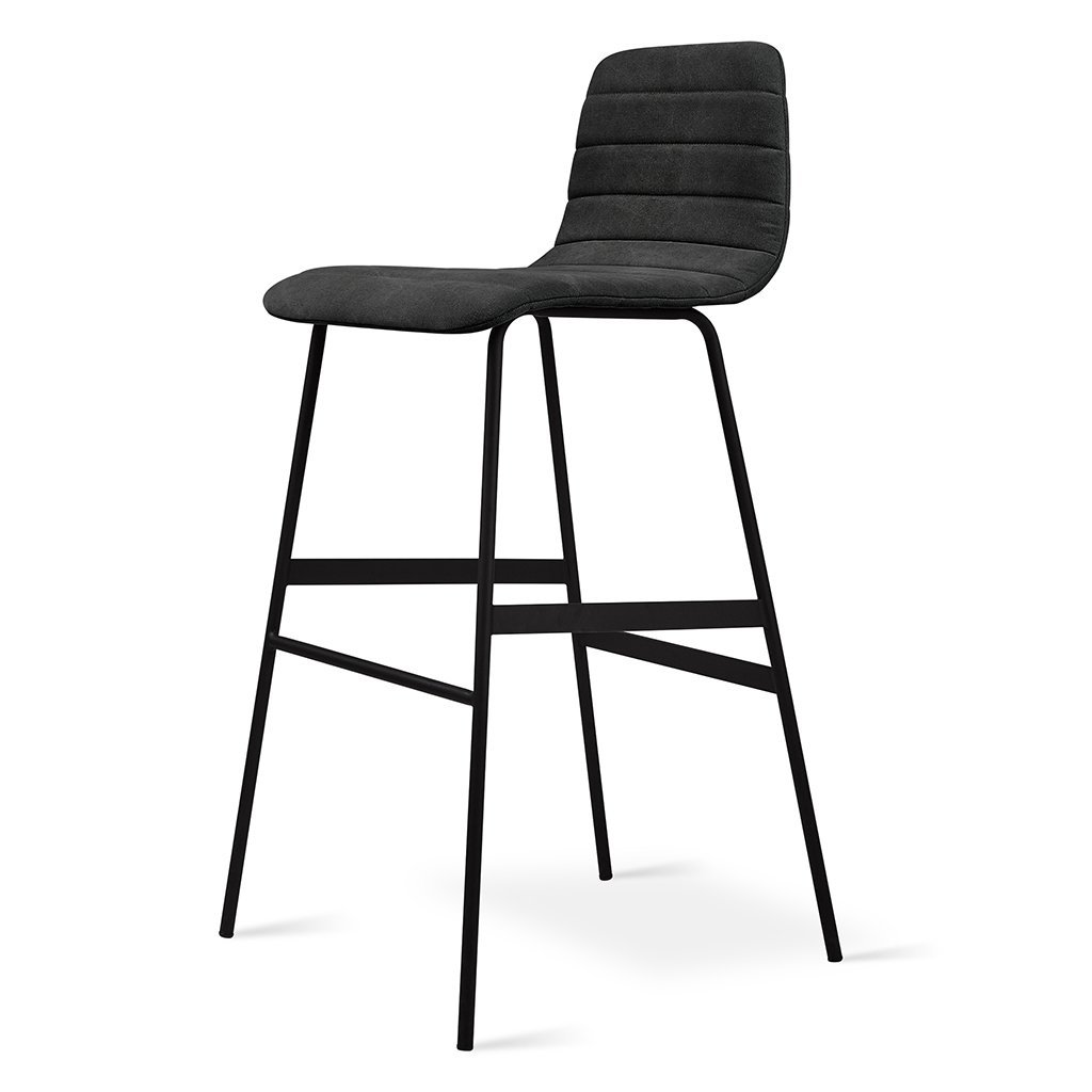 Gus Lecture Bar Stool Vintage Alloy