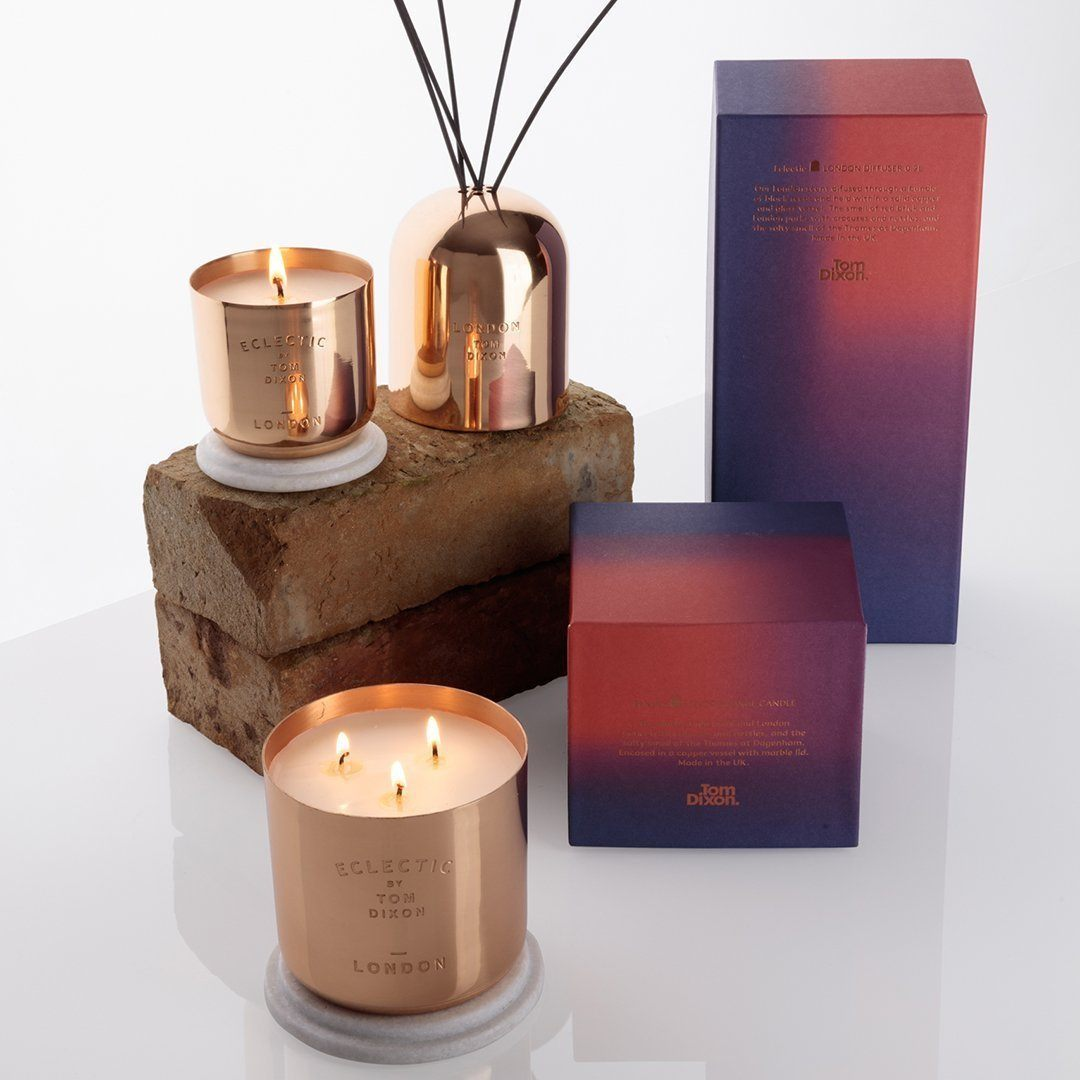 Tom Dixon Eclectic London Candle Large