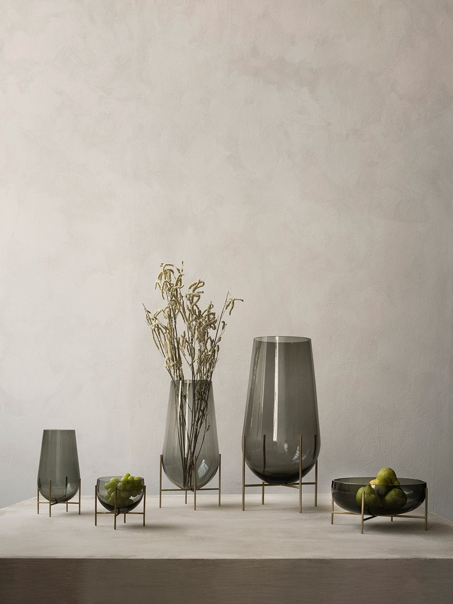 Menu Echasse Vase Small Clear Glass
