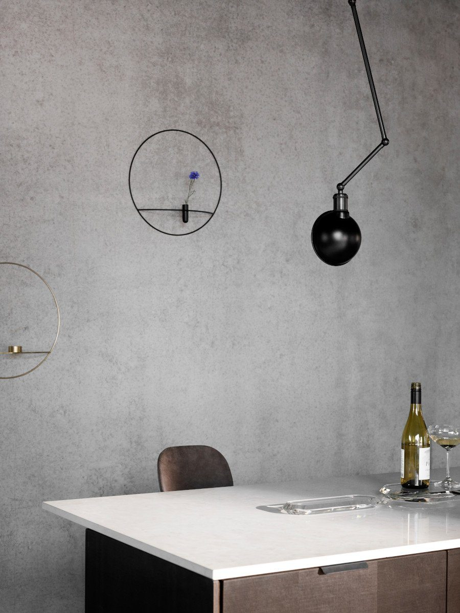 Menu Tribeca Hudson Wall/Ceiling Lamp Black/Brass