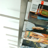 GUS Stainless Steel Magazine Racks