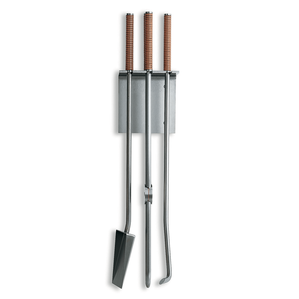 Conmoto Peter Maly Wall Mounted Fireplace Tools