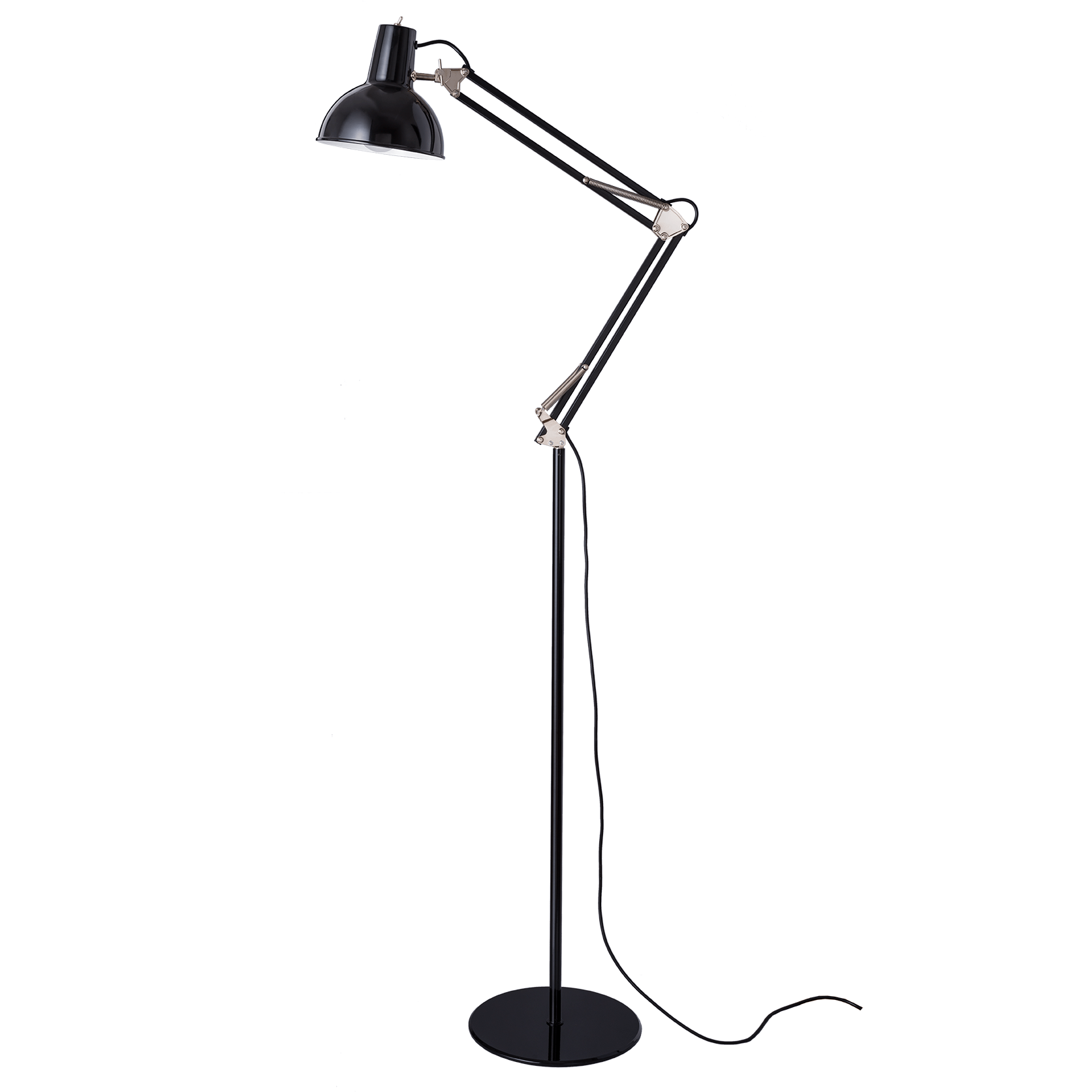 Midgard Spring Balanced Floor Light Black
