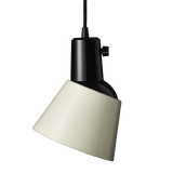 Midgard K831 Pendant Light Pearl White Enamelled