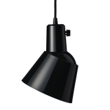 Midgard K831 Pendant Light Black Enamelled