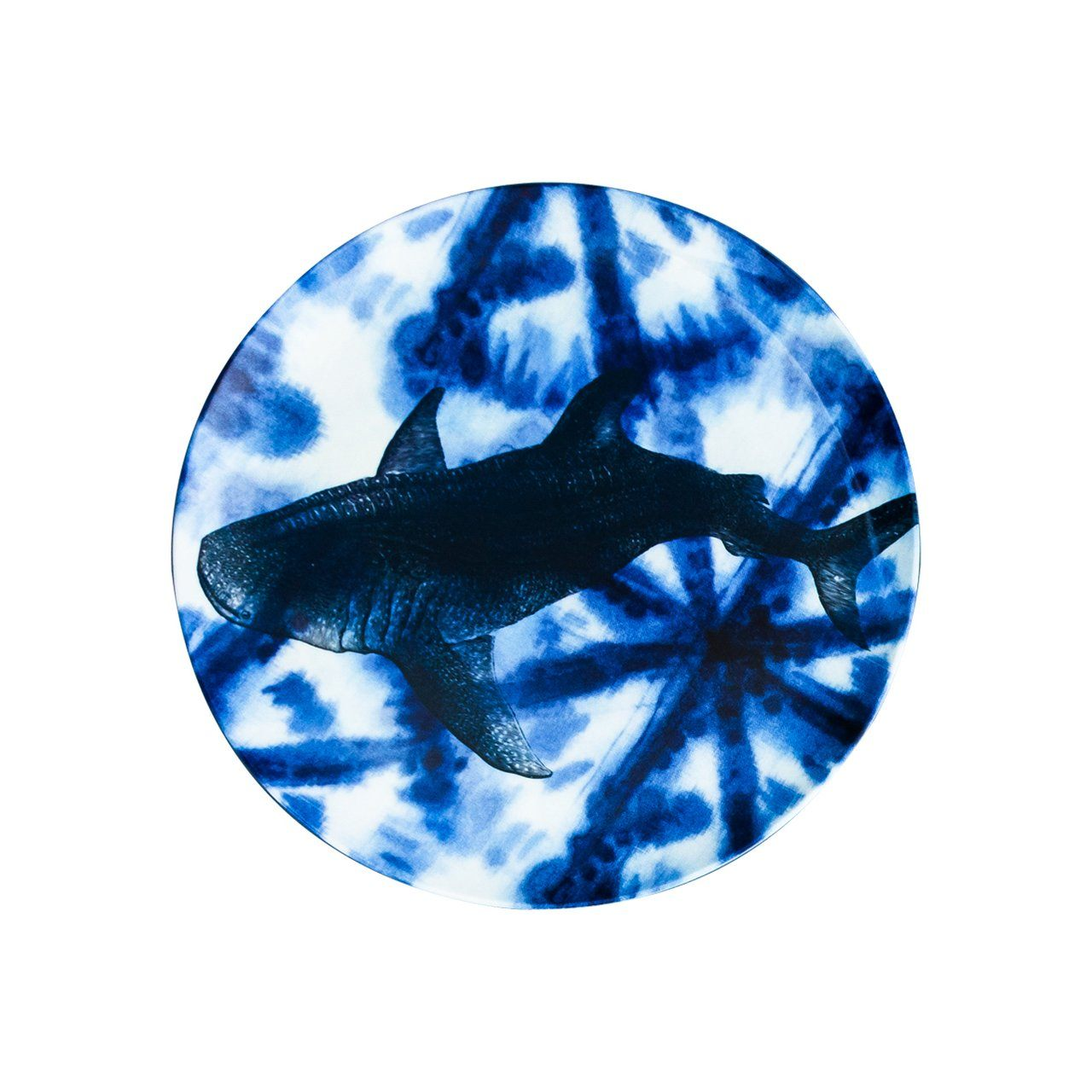 Thomas Paul Shibori Sea Life Side Plate Set of 4