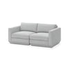 GUS Modern Podium Modular 2 PC Sofa