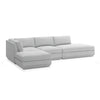 GUS Modern Podium Modular 4 PC Lounge Sectional B
