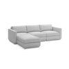 GUS Modern Podium Modular 4 PC Lounge Sectional