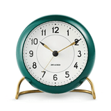 Arne Jacobsen Station Alarm Clock Racing Green