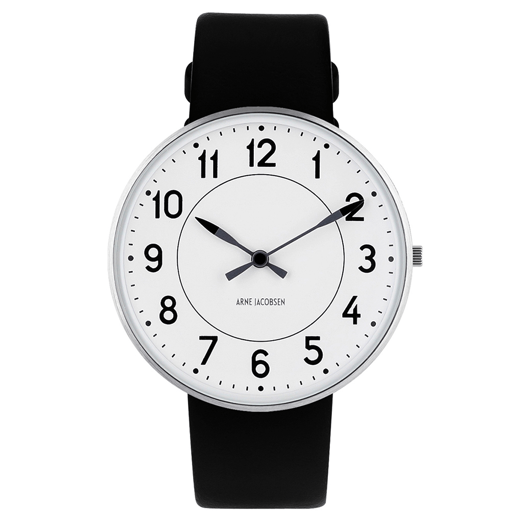 Arne Jacobsen Station 40mm Wrist Watch