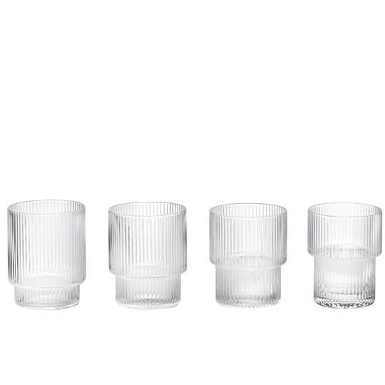 Ferm Living Ripple Glass Small Glass