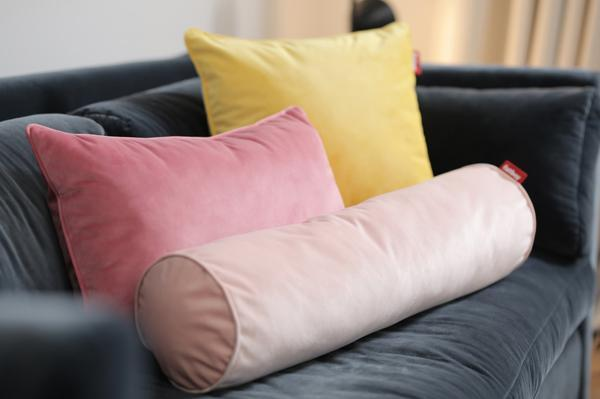 Fatboy Rolster Pillow Velvet - Accent Pillow Deep Blush
