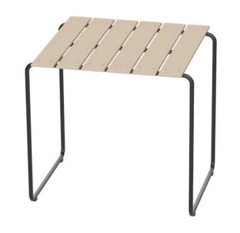 Mater Ocean Table Black Small