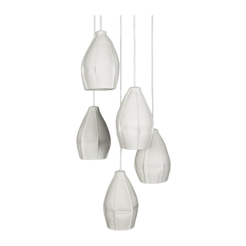Souda Kawa Pendants - Cluster of 5