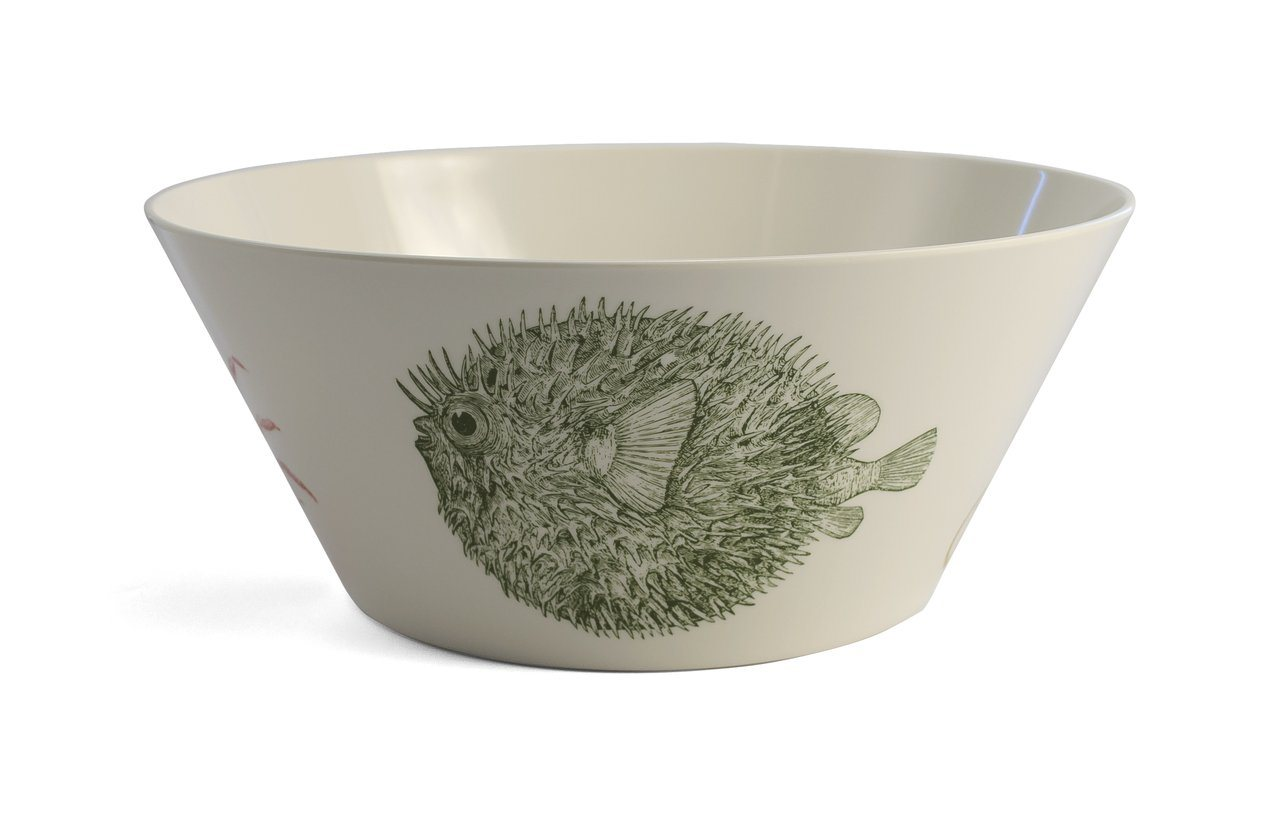 Thomas Paul Sea Life Serving Bowl