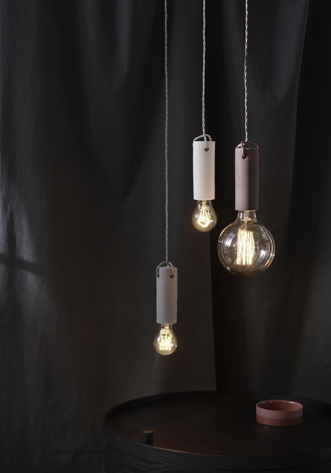 Menu Tied Pendant Light Ash
