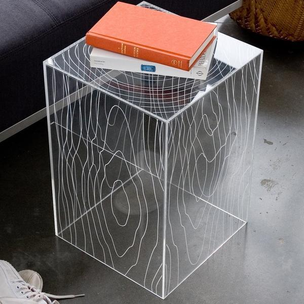 GUS Acrylic Timber Table