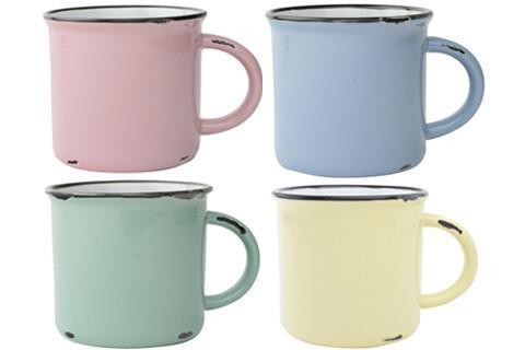 Canvas Home Tinware Mug Gift Set - Spring